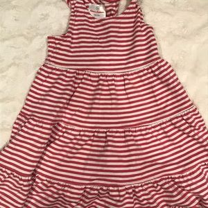 Hanna Andersson sz 90 pink striped dress
